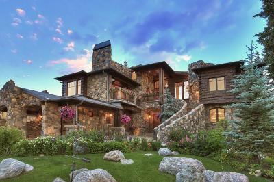 Breckenridge CO Single Family Home For Sale: $10,000,000