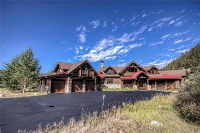 Breckenridge CO Single Family Home For Sale: $2,750,000