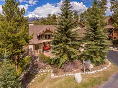 Breckenridge, Copper Mountain, Dillon, Frisco, Keystone, Silverthorne Single Family Home For Sale: 307 Mountain Bluebell Road