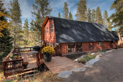 Blue River, Breckenridge Single Family Home For Sale: 384 Blue Ridge Road