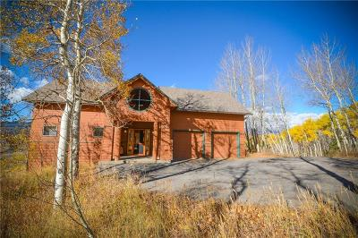Breckenridge, Copper Mountain, Dillon, Frisco, Keystone, Silverthorne Single Family Home For Sale: 54 Pinon Trail