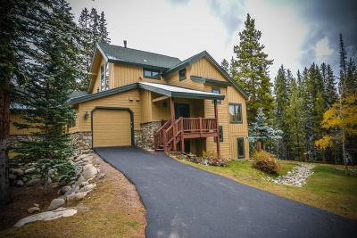 Breckenridge, Copper Mountain, Dillon, Frisco, Keystone, Silverthorne Townhouse For Sale: 1158 Settlers Drive #1158
