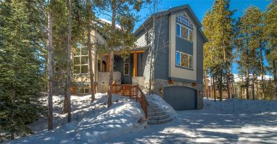 Breckenridge CO Single Family Home For Sale: $1,849,000
