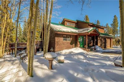 Breckenridge CO Single Family Home For Sale: $989,000