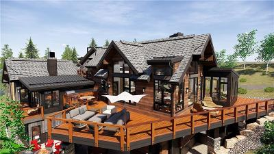 Breckenridge CO Single Family Home For Sale: $5,175,000