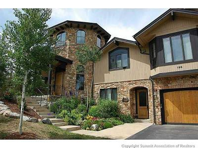Silverthorne Single Family Home For Sale: 195 Highline Crossing