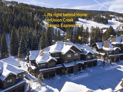 Copper Mountain Townhouse For Sale: 35 Union Creek Trail #35C