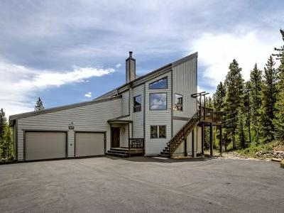 Breckenridge CO Single Family Home For Sale: $1,590,000