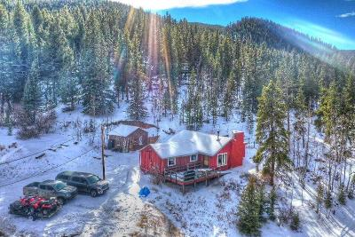 Park County Single Family Home For Sale: 45954 Hwy 285