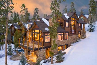 Breckenridge CO Single Family Home For Sale: $3,250,000