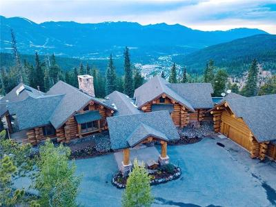 Breckenridge CO Single Family Home For Sale: $5,950,000