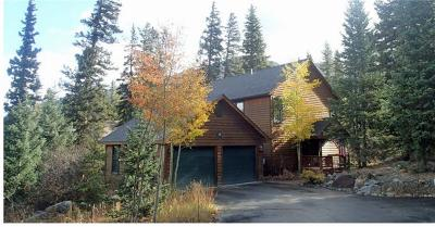 Breckenridge CO Single Family Home For Sale: $869,000