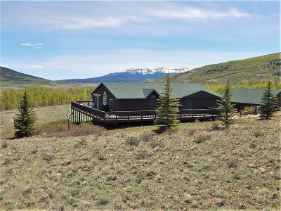 Park County Single Family Home For Sale: 1353 Sheep Ridge Road