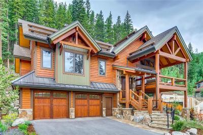 Breckenridge CO Single Family Home For Sale: $2,595,000