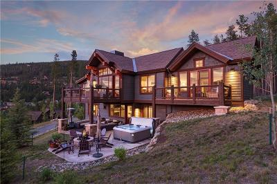 Breckenridge CO Single Family Home For Sale: $2,800,000