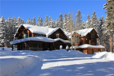 Breckenridge CO Single Family Home For Sale: $2,995,000
