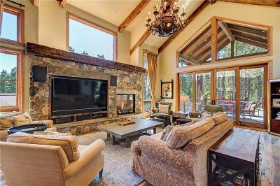 Breckenridge CO Single Family Home For Sale: $2,850,000