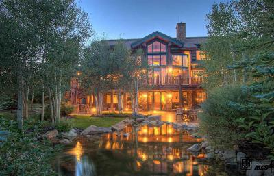 Steamboat Springs Single Family Home For Sale: 27680 Beaver Ridge Road