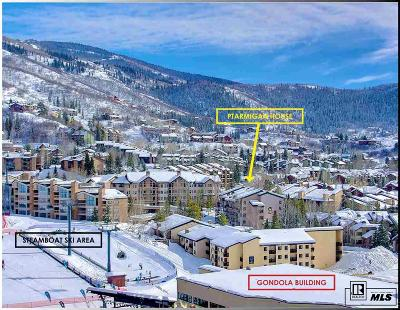 Steamboat Springs Condo/Townhouse For Sale: 2322 Apres Ski Way #32 #Ptarmiga