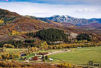 Steamboat Springs Single Family Home For Sale: 44285 Routt County Road 129