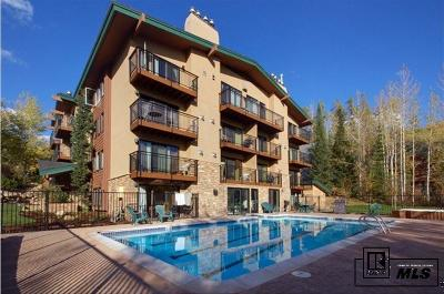 Steamboat Springs Condo/Townhouse For Sale: 2883 Burgess Creek Rd #202