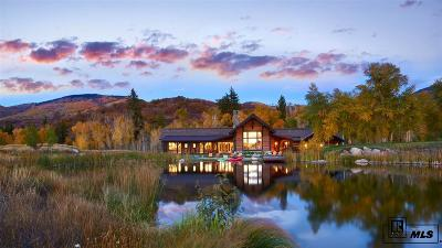Steamboat Springs Single Family Home For Sale: 33570 Watersong Lane