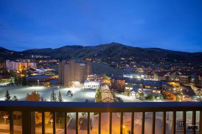 Steamboat Springs Condo/Townhouse For Sale: 2300 Mt Werner Circle #651