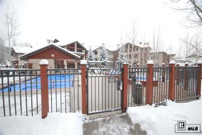Steamboat Springs Condo/Townhouse For Sale: 1825 Medicine Springs Drive #3201