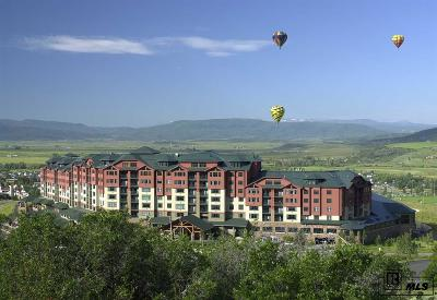 Steamboat Springs Condo/Townhouse For Sale: 2300 Mt. Werner Circle #505/506 #Unit 505