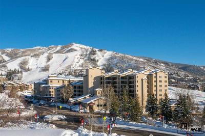 Steamboat Springs Condo/Townhouse For Sale: 1875 Ski Time Square Dr, 418