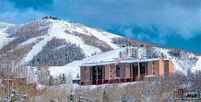 Steamboat Springs Condo/Townhouse For Sale: 1805 River Queen Lane, 104 #Ridgecre