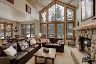 Steamboat Springs Condo/Townhouse For Sale: 2516 Evergreen Lane #1
