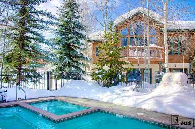 Steamboat Springs Condo/Townhouse For Sale: 2590 Evergreen Lane