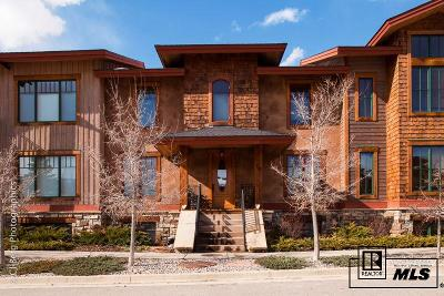 Steamboat Springs Condo/Townhouse For Sale: 78 Park Place #Unit 19
