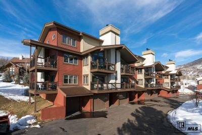 Steamboat Springs Condo/Townhouse For Sale: 1660 Ranch Rd #106
