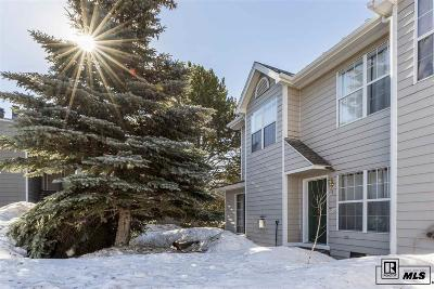 Steamboat Springs Condo/Townhouse For Sale: 1280 Athens Plz # Zeta 4