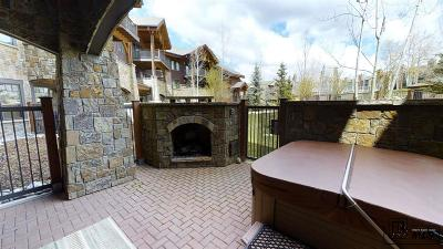 Steamboat Springs Condo/Townhouse For Sale: 1750 Medicine Springs Drive #6108