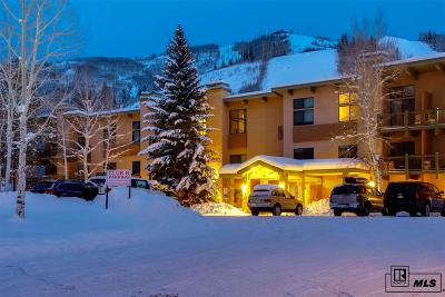 Steamboat Springs Condo/Townhouse For Sale: 2375 Storm Meadows Drive #b314 #B314