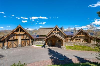 Steamboat Springs Single Family Home For Sale: 30350 Blue Grouse Lane