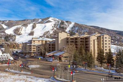 Steamboat Springs Condo/Townhouse For Sale: 1855 Ski Time Square Drive #604 #Torian P