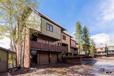 Steamboat Springs Condo/Townhouse For Sale: 2650 Medicine Springs Drive, #28
