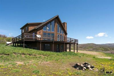 Steamboat Springs Single Family Home For Sale: 50355 Buck Mountain Lane