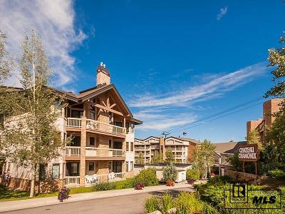Steamboat Springs Condo/Townhouse For Sale: 2340 Apres Ski Way #C325