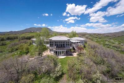 Steamboat Springs Single Family Home For Sale: 43600 Old Elk Trail