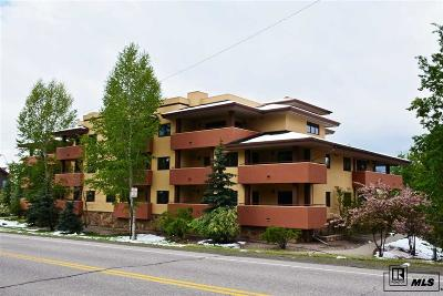 Steamboat Springs Condo/Townhouse For Sale: 2780 Eagleridge Dr. #B306