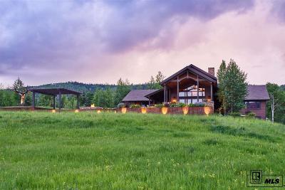 Steamboat Springs Single Family Home For Sale: 31640 Aspen Ridge Road