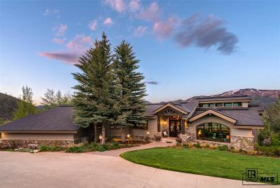 Steamboat Springs Single Family Home For Sale: 36110 Quarry Ridge Rd.