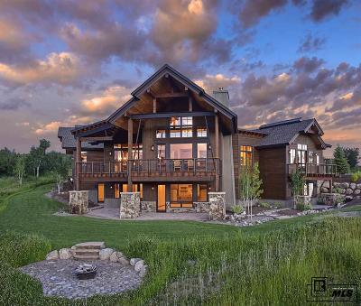 Steamboat Springs Single Family Home For Sale: 30485 Marshall Ridge Rd #Lot 10 S