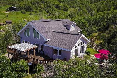 Steamboat Springs Single Family Home For Sale: 32890 S Elk Dr