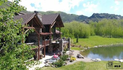 Steamboat Springs Single Family Home For Sale: 2890 Bucks Path #Elkins M